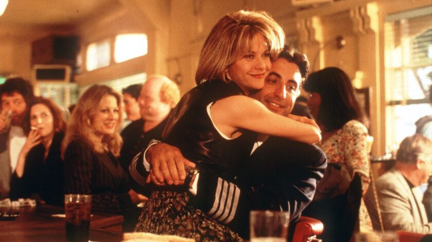 "Meg Ryan and Andy Garcia in ""When a Man Loves a Woman"". PHOTOGRAPHER: PETER SOREL."