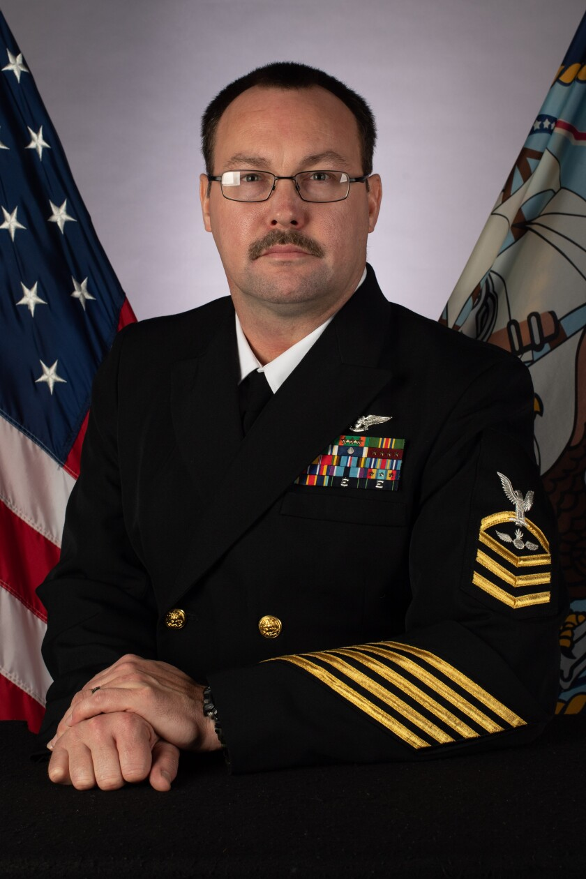 Aviation Ordinanceman Chief Charles Thacker, 41, died Monday from complictions of COVID-19.