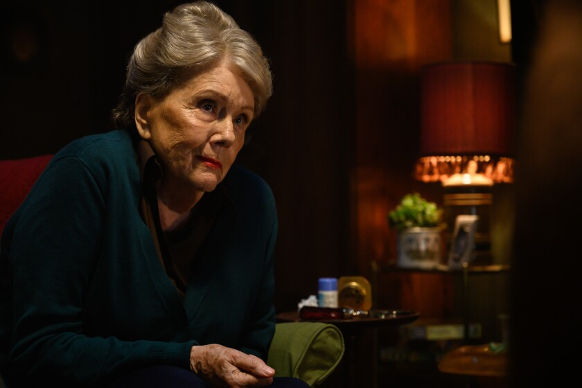 Diana Rigg stars as Ms. Collins in Edgar Wright's LAST NIGHT IN SOHO