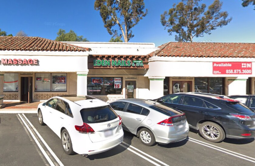 The owners of Eden Nails Lounge & Spa and Majestic Nail Salon in Rancho Bernardo, Calif., were arrested and arraigned Thursday on federal forced labor charges.