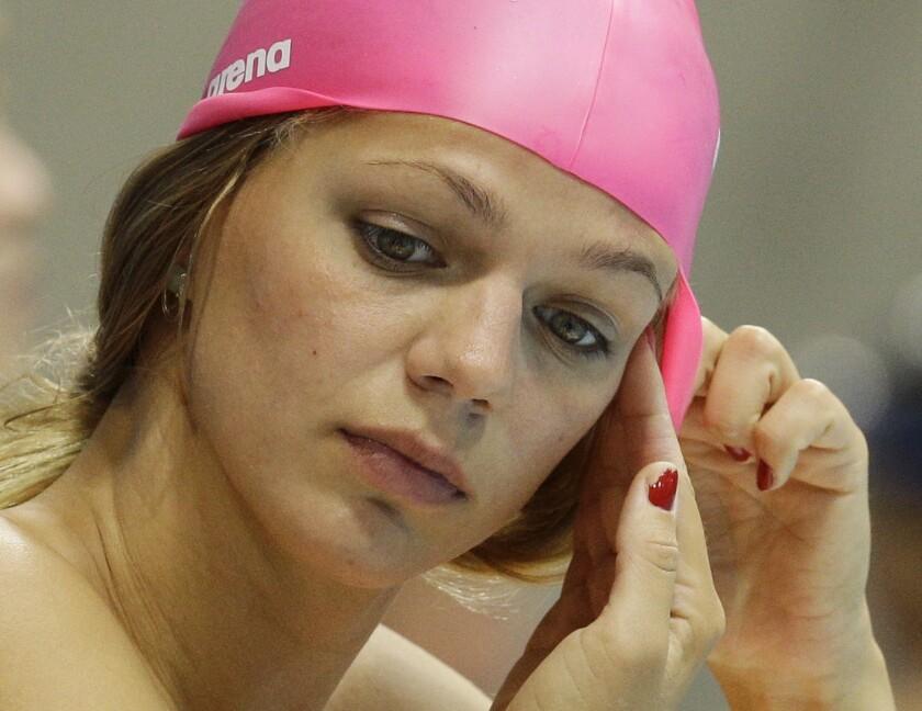 Yulia Efimova.