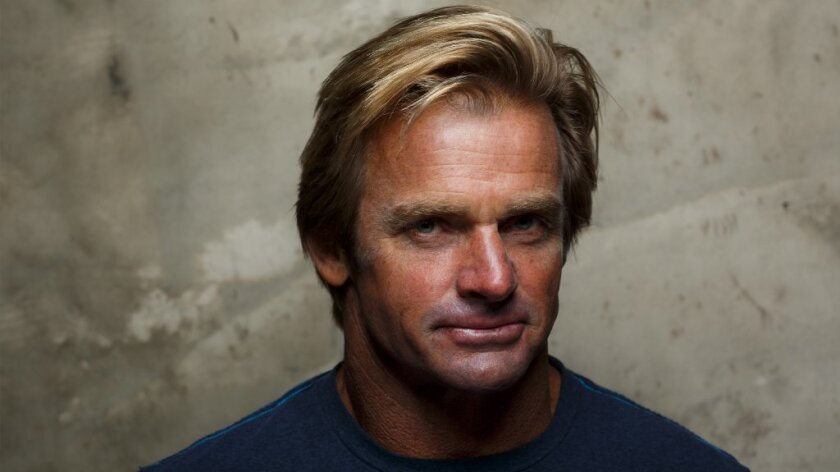 """Surfer Laird Hamilton, subject of the documentary """"Take Every Wave: The Life of Laird Hamilton.""""."""