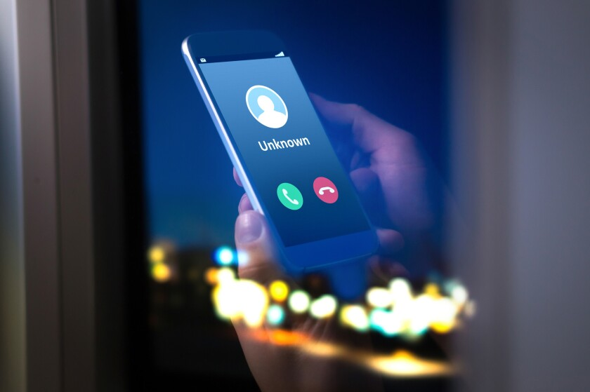 Scam calls and COVID-19 rackets are on the rise as a result of people being stuck at home, officials warn.