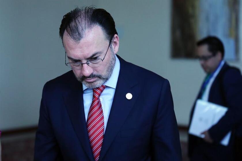 El canciller mexicano, Luis Videgaray. EFE/Archivo