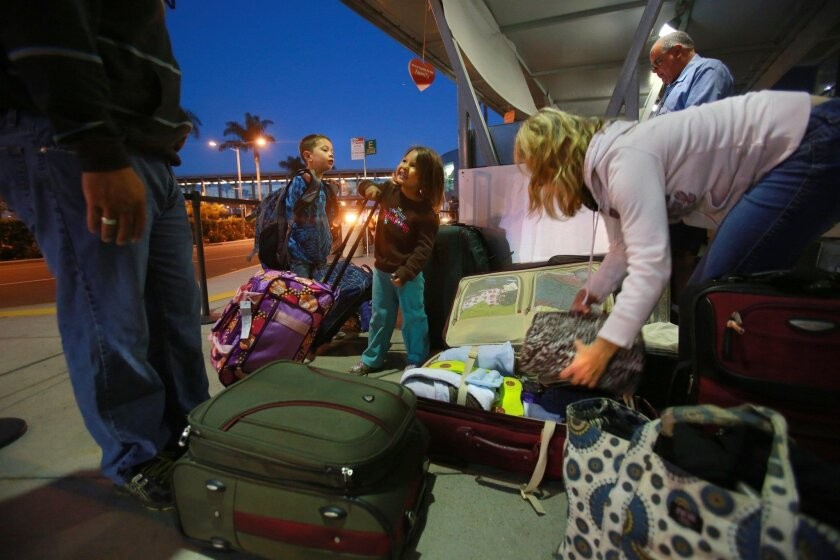 Airports will be crowded this Thanksgiving holiday as more than 380,000 Southern Californians are expected to fly over the long weekend.