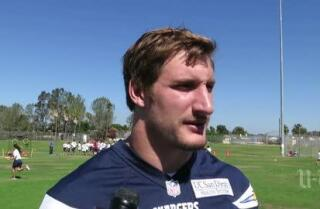 Joey Bosa visits Challenger Middle School