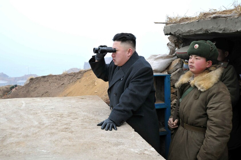 North Korea could stumble from bluster to war