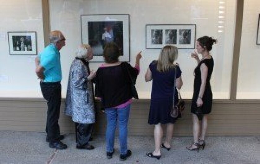 OMA's Del Mar satellite site launched Oct. 5 at the Herbert B. Turner Gallery at Southfair. Courtesy photos