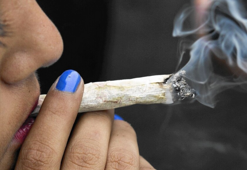 Using marijuana to get a buzz has been decriminalized in California since the mid-1970s.