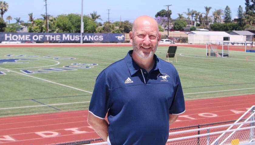 San Dieguito Academy Athletic Director Scott Jordon