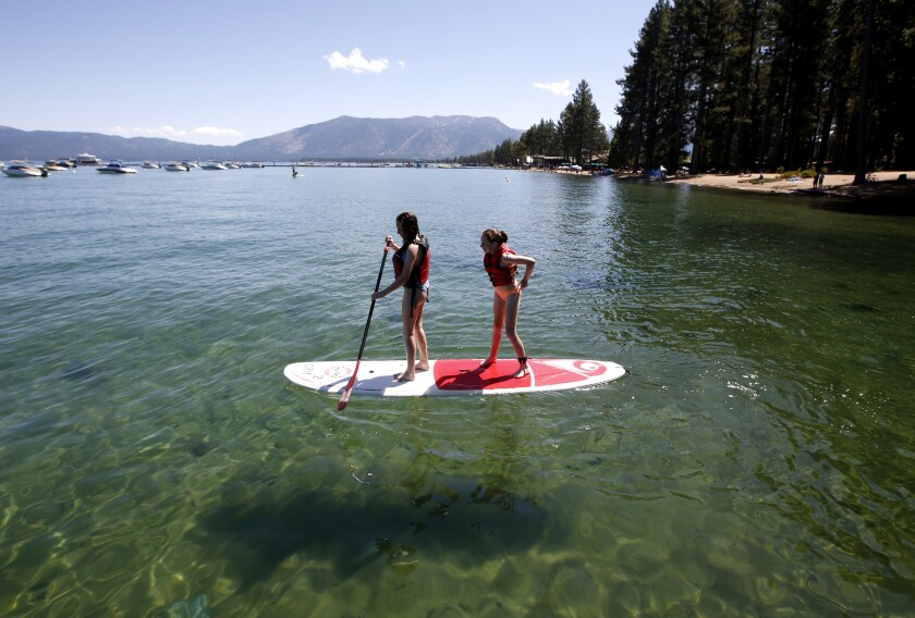 Microplastics Lake Tahoe