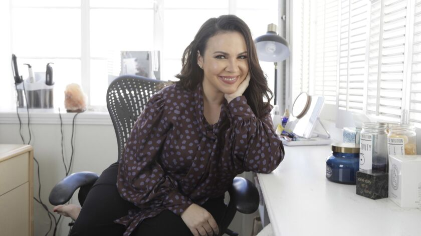 CULVER CITY, CA - FEBRUARY 22, 2019: Gloria Calderon Kellett, the co-showrunner of Netflix's reboot