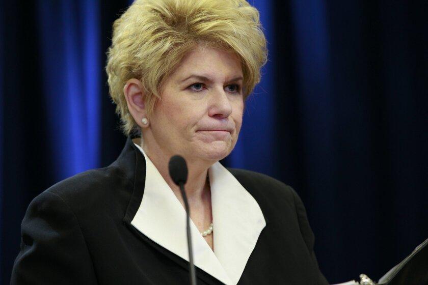 District Attorney Bonnie Dumais [Union-Tribune file]