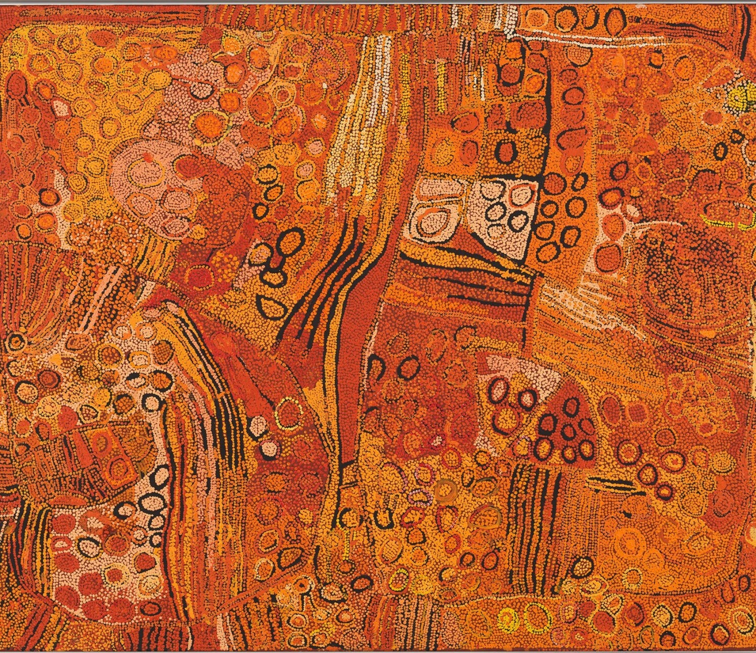 Gagosian's 'Desert Painters of Australia' bursts with beauty