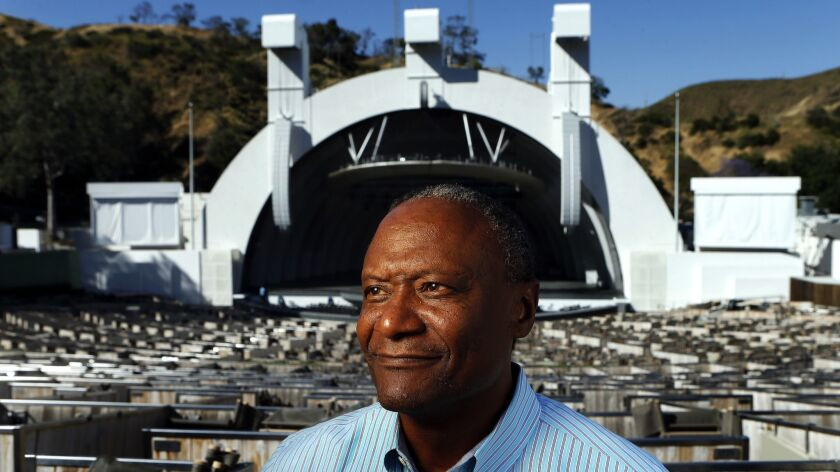 HOLLYWOOD, CA-MAY 1, 2017: Hollywood Bowl Orchestra conductor Thomas Wilkins is photographed at the