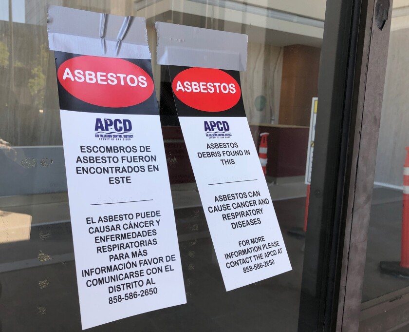 City of San Diego cited for asbestos violations at former Sempra building - The San Diego Union-Tribune