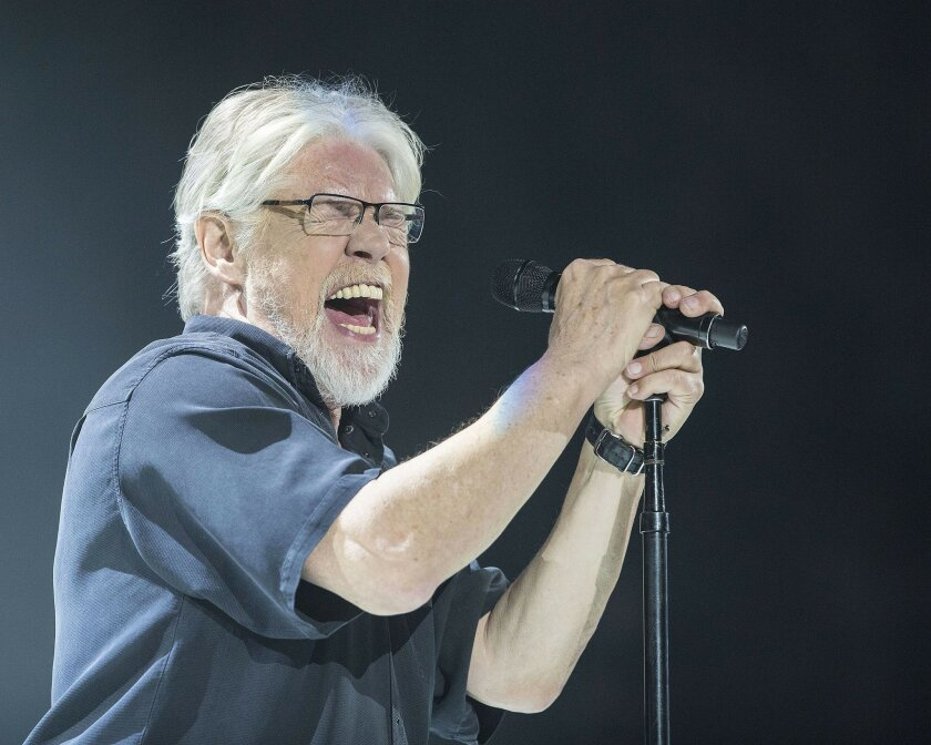 SAN DIEGO, CA - FEBRUARY 25:  Musician Bob Seger performs on stage with The Silver Bullet Band at Viejas Arena in San Diego, CA on February 25, 2015.    Photo by Daniel Knighton