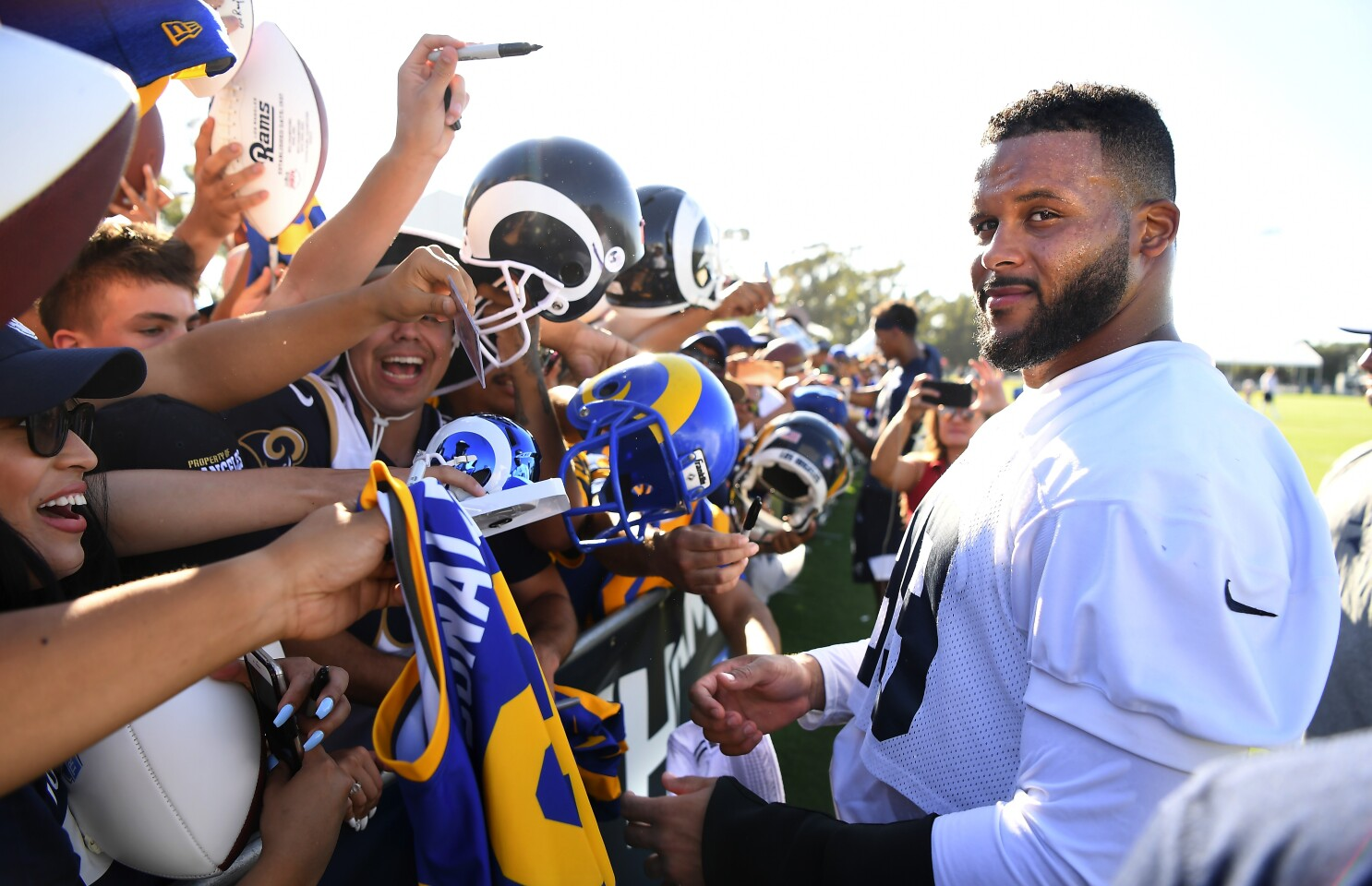 Rams Aaron Donald Ranked No 1 By Peers In Nfl S Top 100 Players Of 2019 The San Diego Union Tribune