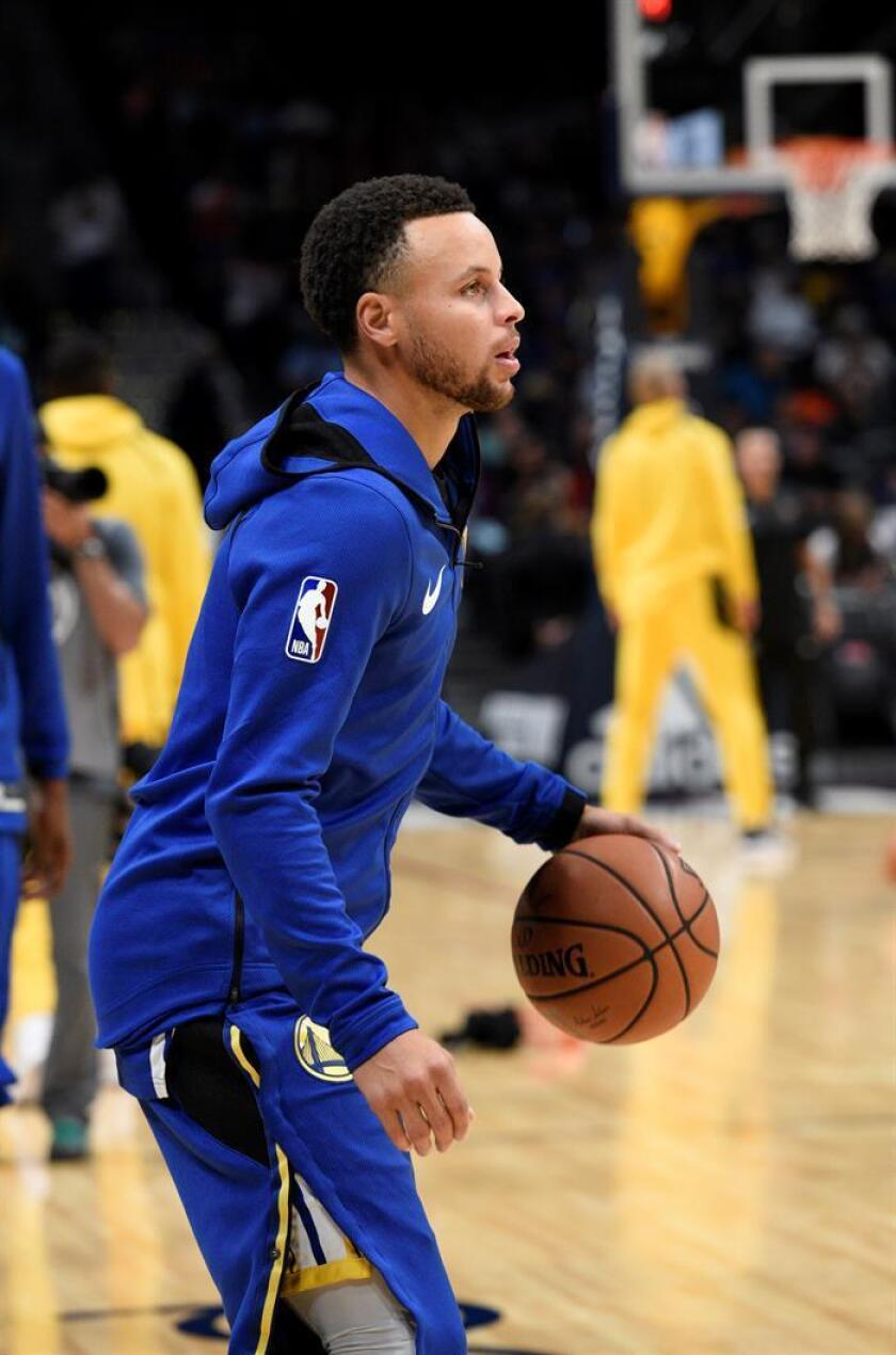 Stephen Curry de los Golden State Warriors. EFE/Archivo