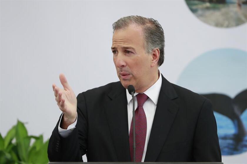 El candidato del Partido Revolucionario Institucional (PRI) a la Presidencia de México, José Antonio Meade. EFE/Archivo