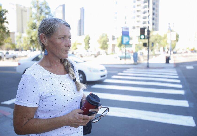 San Diego, California, USA October 13th 2015:  Photo of Tari Harkenon.   (Alejandro Tamayo / San Diego Union-Tribune)