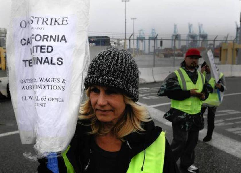 Losses mount as L.A. and Long Beach port strike persists