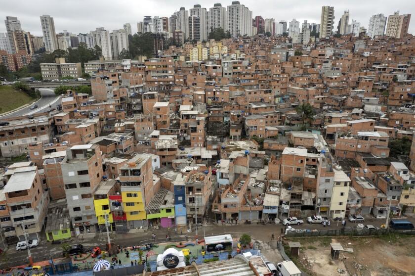 La favela de Paraisopolis en Sao Paulo, Brasil, el 16 de septiembre del 2021.