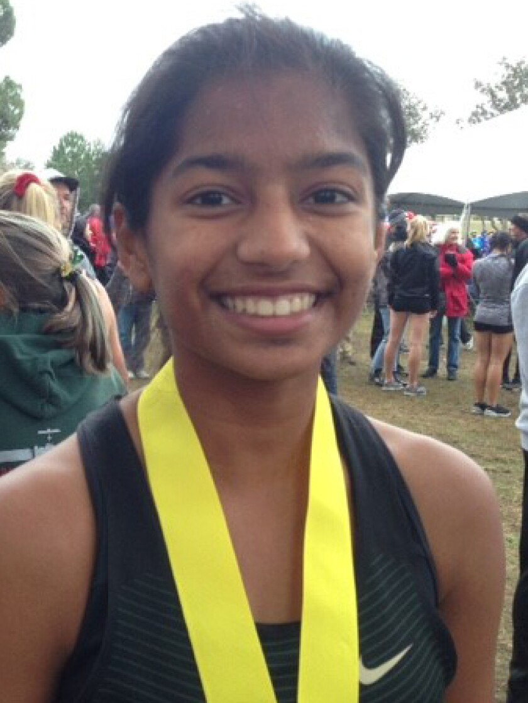 Lavanya Pandey, Sage Creek high school girls cross country