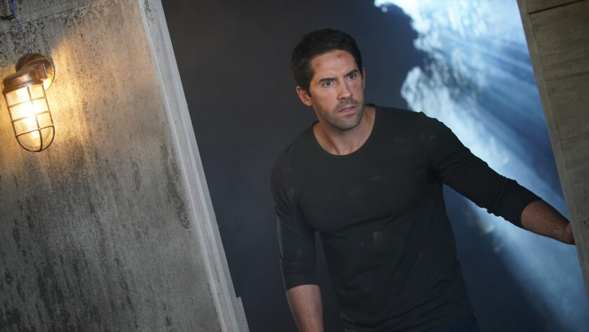 "Scott Adkins as Quinn in action sci-fi thriller ""ABDUCTION."" Credit: Shout! Studios"