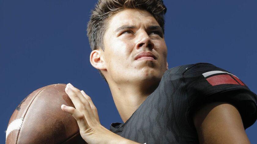 Vista quarterback Josh Davies opened the scoring with a 99-yard TD run.