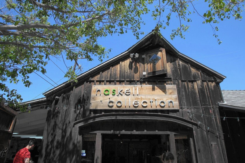 The Haskell Collection is a new creative retail studio in a 70-year-old house on 17th St. in Costa Mesa.