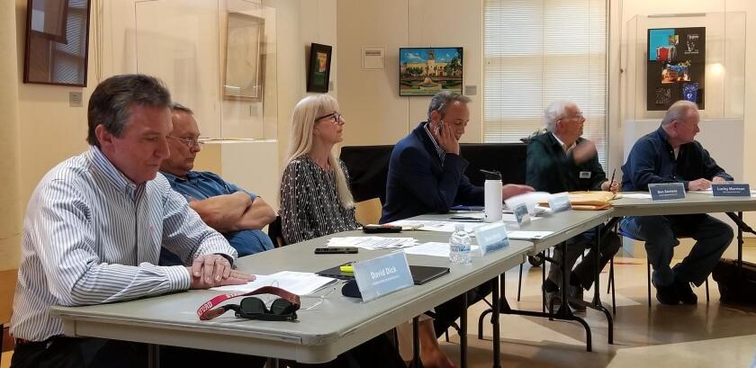 David Dick, Brad Herrin (second vice chair), Korla Eaquinta (treasurer), Mark Krencik, Don Sevrens and Lucky Morrison