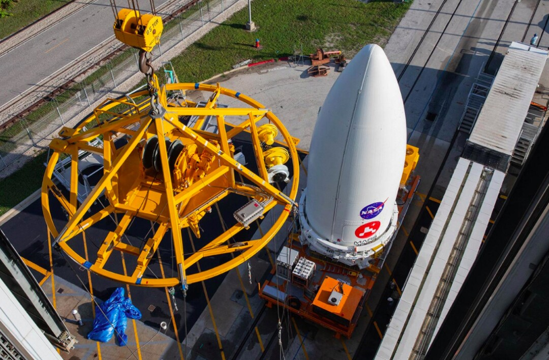 Perseverance will be launched by an Atlas V rocket at Cape Canaveral, Florida.