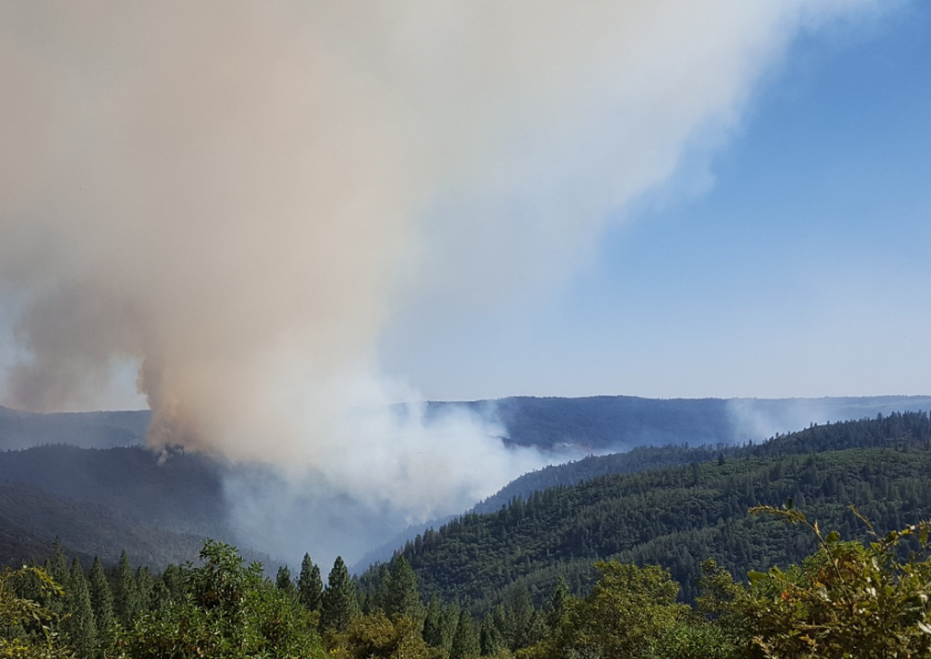 The Trailhead fire broke out along the middle fork of the American River near Todd Valley.