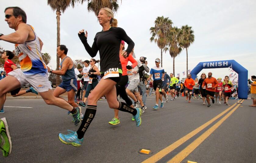 San Diego Resolution Run.