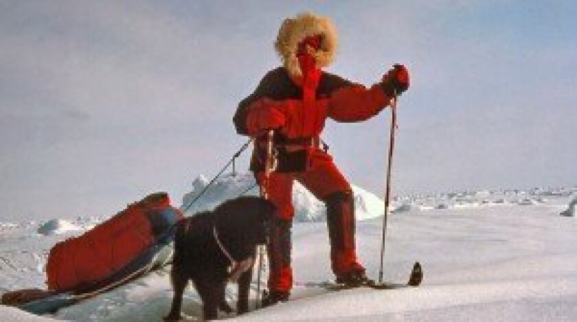 Helen Thayer on her trip to the magnetic North Pole.