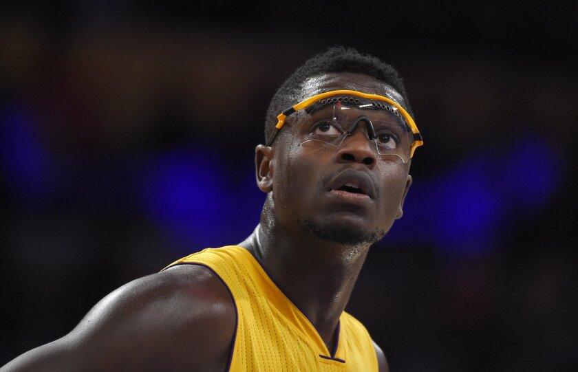 Lakers forward Julius Randle.