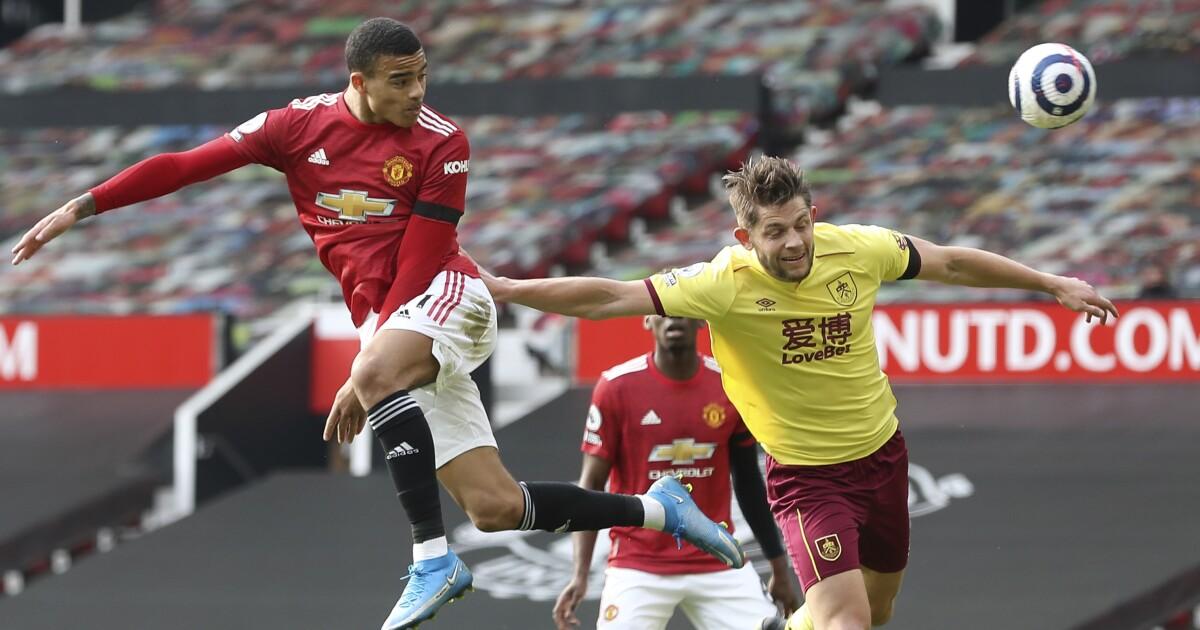 Man United vence a Burnley, se acerca a 8 puntos del City - San Diego Union-Tribune en Español