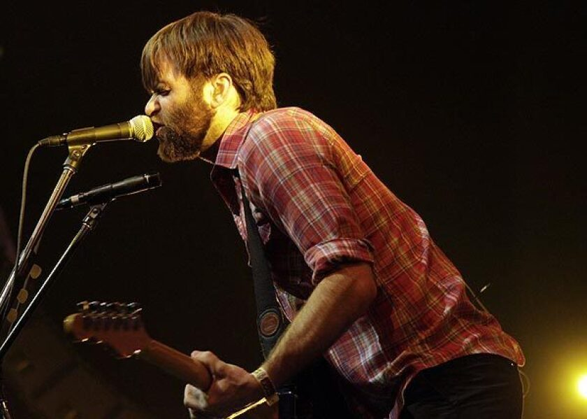 """Benjamin Gibbard of Death Cab for Cutie. The band has a new album """"Kintsugi"""" out in March."""