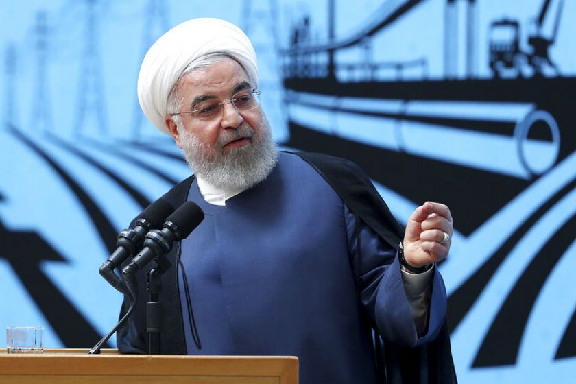 """Without the U.S.' withdrawal from sanctions, we will not witness any positive development,"" Iranian President Hassan Rouhani said in a televised speech Aug. 27."