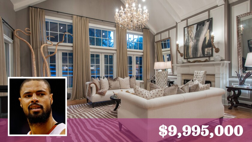 The NBA star bought the 1.34-acre estate in Hidden Hills in 2010 for $5.45 million.