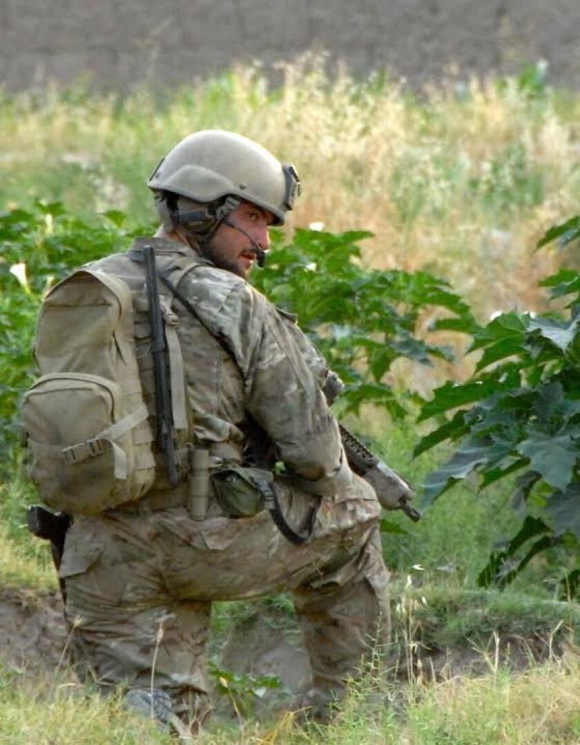 Sgt. 1st. Class Charles Martland in Afghanistan.