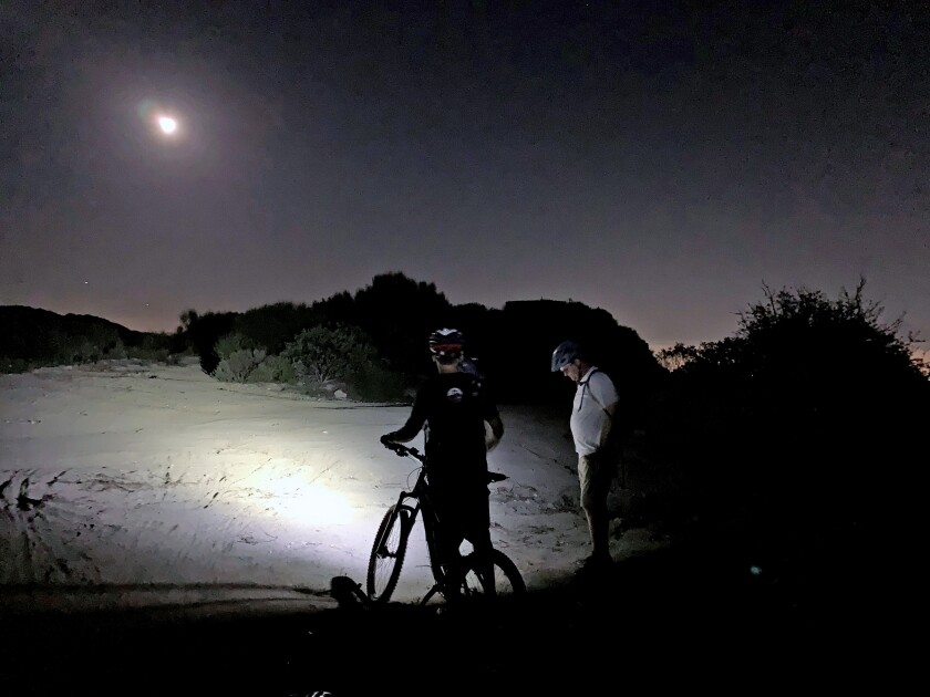 Montrose Search and Rescue member targets illegal Mt  Lukens lights