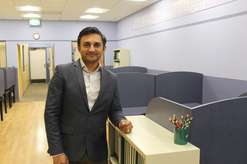 Huntington Learning Center Del Mar's director Rajesh Kathiru.