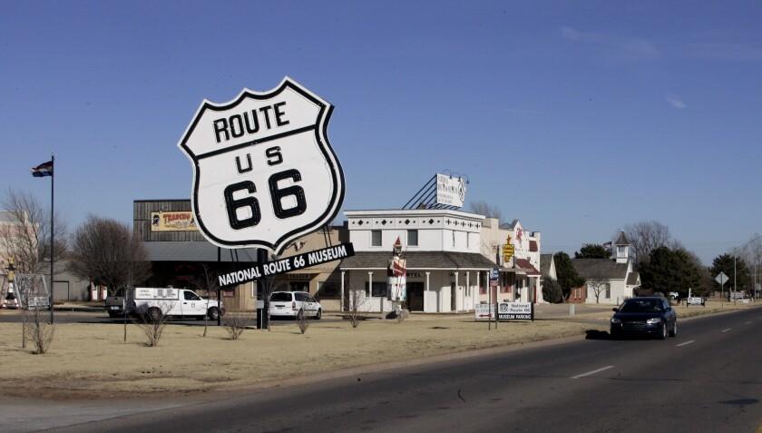 Route 66 Trump