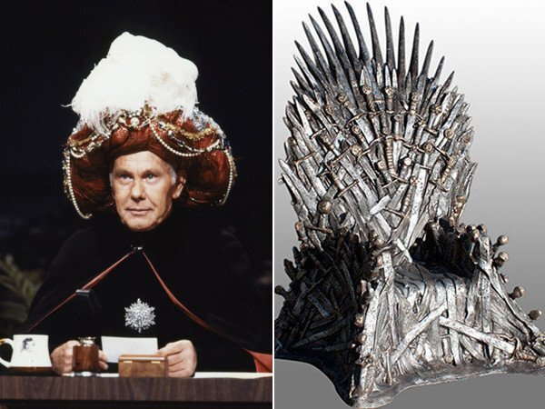 """The prize in the late-night battle, equivalent to the Iron Throne of """"Game of Thrones,"""" is the top spot in the Nielsen ratings, which has traditionally been held by whomever sits at the Burbank desk once held by the """"king of late night,"""" Johnny Carson, on NBC's venerable """"Tonight Show."""""""