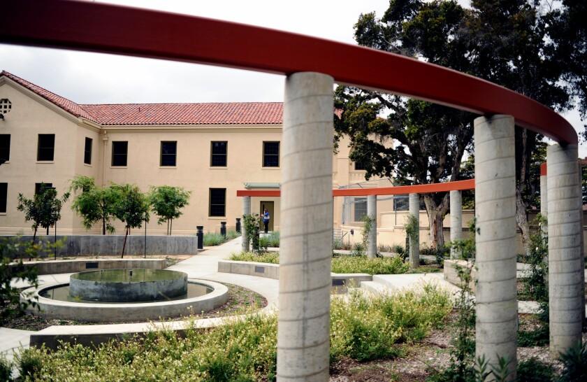 VA campus in West Los Angeles