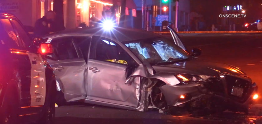 Two passengers in a car were killed in a crash early Nov. 22 on Girard Avenue in La Jolla.