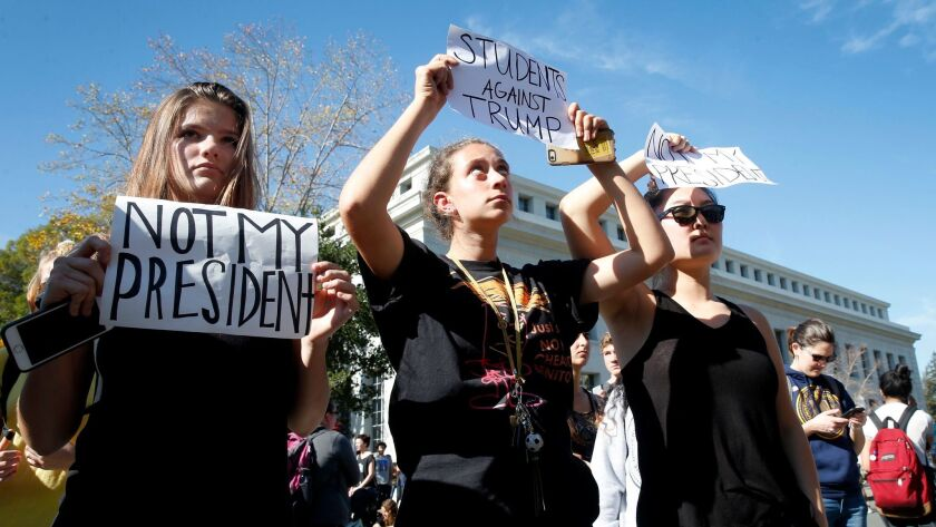Berkeley Trump protest