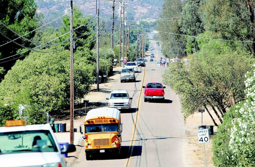 Ramona residents say the traffic problem along Ramona Street worsens when nearby schools begin and end their days. The street now doesn't connect between Boundary Avenue and Warnock Drive.